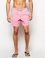 ASOS &ndash; Badeshorts in Acid-Waschung