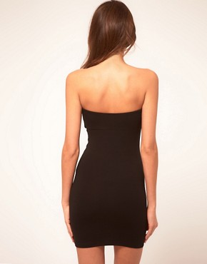 Image 2 ofASOS Sexy Strapless Dress