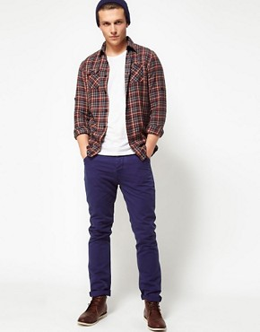 Image 4 of Scotch And Soda Shirt In Check Flannel