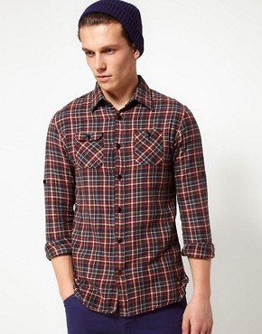 Image 1 of Scotch And Soda Shirt In Check Flannel