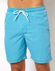 Shorts de bao de color liso de New Look