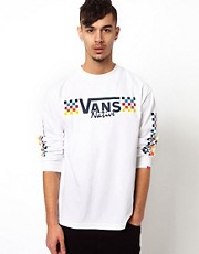 Camiseta de manga larga con logo Native de Vans