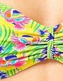 Image 3 ofASOS Toucan Print Bandeau Bikini Top