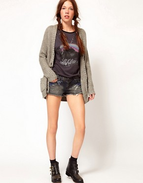 Image 1 ofb + ab Denim Shorts