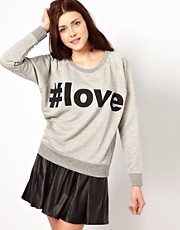 Vero Moda Love Sweat Top