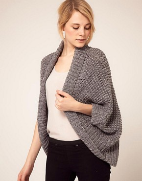 Image 1 ofAlice Yim Hand Knitted Cocoon Cardigan