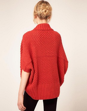 Image 2 ofAlice Yim Hand Knitted Cocoon Cardigan