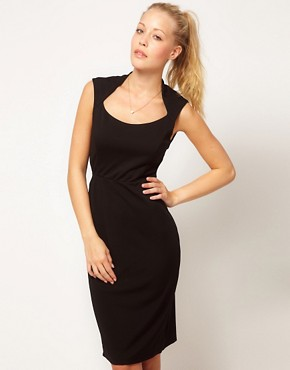 Image 1 ofGlamorous Open Neck Pencil Dress