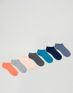 ASOS Trainer Socks 7 Pack