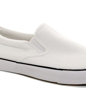 Image 2 ofASOS Slip On Plimsolls