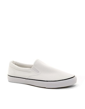 Image 1 ofASOS Slip On Plimsolls