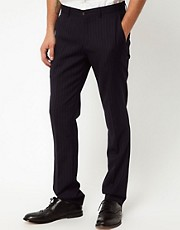 Vito Pinstripe Trousers