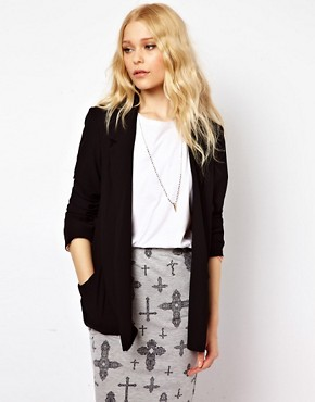 Image 1 ofRiver Island Drape Jacket