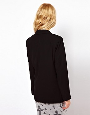 Image 2 ofRiver Island Drape Jacket