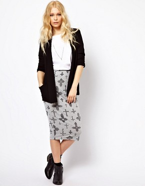 Image 4 ofRiver Island Drape Jacket