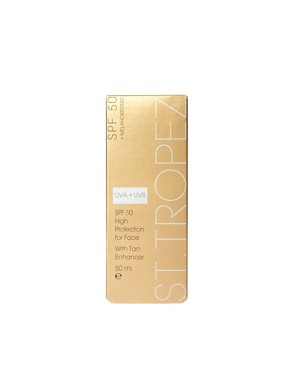 Image 2 ofSt. Tropez SPF 50 Face With Tan Enhancer 50ml