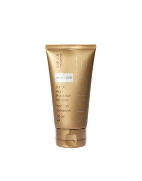 Image 1 ofSt. Tropez SPF 50 Face With Tan Enhancer 50ml