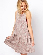 ASOS Sleeveless Smock Dress In Stargazer