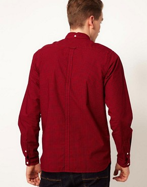 Image 2 ofFred Perry Overdyed Gingham Shirt