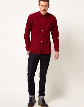 Image 4 ofFred Perry Overdyed Gingham Shirt