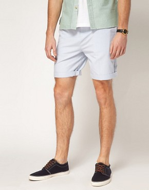 Image 1 of ASOS Oxford Shorts