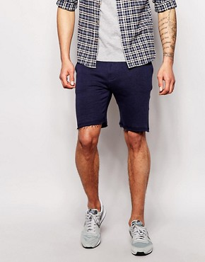 Blend Sweat Shorts Slim Fit Reverse Pocket Detail