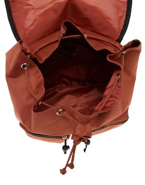 Image 2 ofASOS Aztec Trim Pocket Backpack