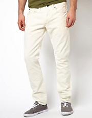 Denim & Supply Ralph Lauren Slim Jeans in Off White