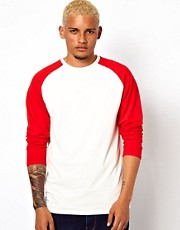 Adidas Originals Raglan Long Sleeved Top