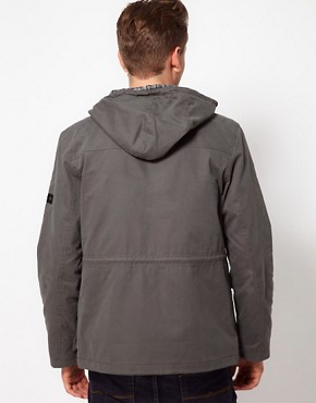 Image 2 ofBen Sherman Hooded Parka Jacket