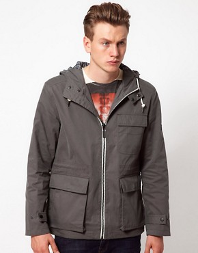 Image 1 ofBen Sherman Hooded Parka Jacket