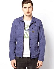 G Star Jacket Overshirt Radar Zip Through