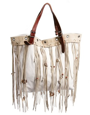 Image 1 ofDenim &amp;Supply Tassel Shopper