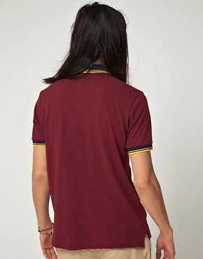 Image 2 ofBenson Vintage Marl Pique Polo