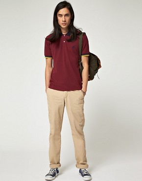 Image 4 ofBenson Vintage Marl Pique Polo