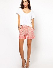 ASOS Shorts with Fluro Embroidery