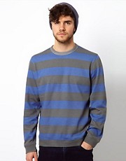 Paul Smith Jeans Sweatshirt with Bold Stripe