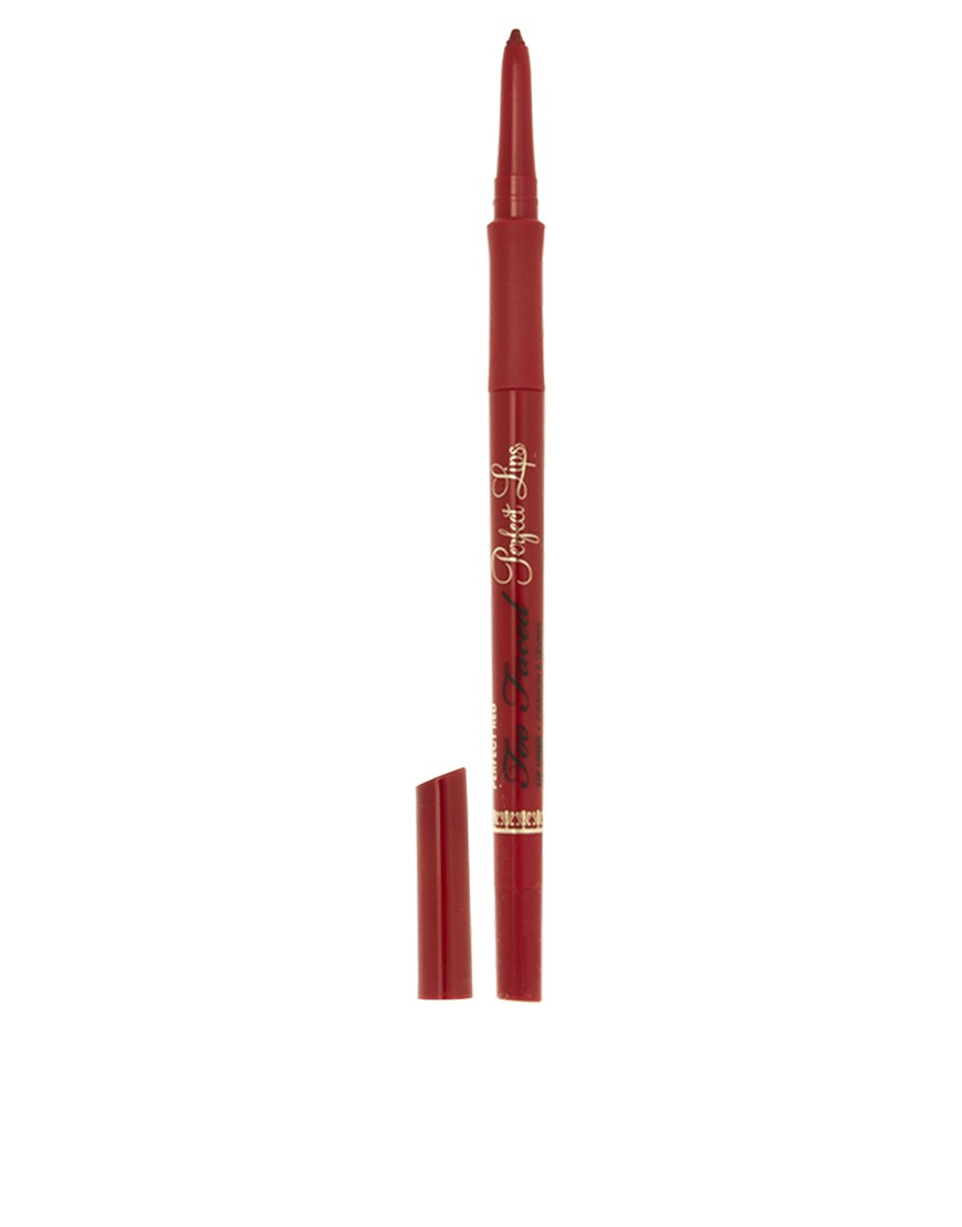 Too Faced Perfect Lips Crayon  lvres