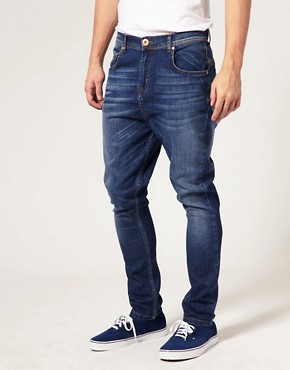 Image 1 ofASOS Skinny Tapered Jeans