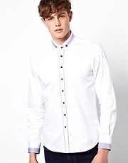 Guide London Shirt Contrast Stripe