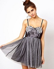 Ginger Fizz  Million Dollar  Bandeau-Kleid im Tutu-Stil