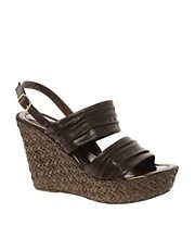 Dune Gato Leather Heeled Sandal