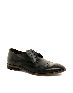 Image 1 ofKG by Kurt Geiger Cassano Washed Brogues