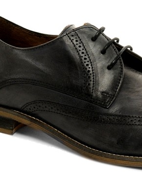 Image 2 ofKG by Kurt Geiger Cassano Washed Brogues