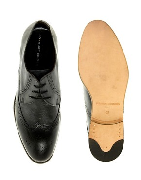 Image 3 ofKG by Kurt Geiger Cassano Washed Brogues
