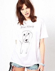 Black Score by Simeon Farrar Exclusive To ASOS Ginger Dog T-Shirt