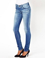 Diesel Groupee Light Wash Skinny Jean