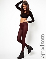 ASOS PETITE Exclusive Leggings In Wetlook