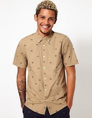 Carhartt Shirt Duck Short Sleeve Allover Print