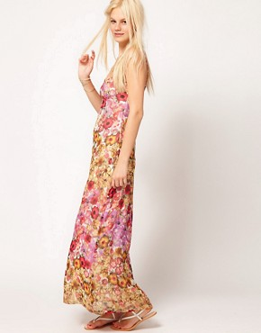Image 4 of ASOS Maxi Dress In Floral Print